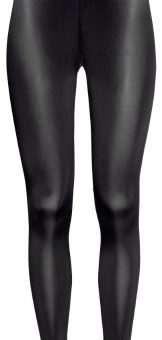 H&m leather look leggings