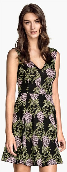 H&M Pineapple Print Dress