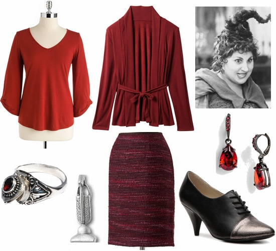 Hocus Pocus Fashion- Mary Sanderson Outfit