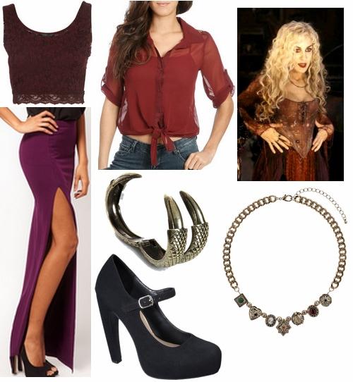 Hocus Pocus Fashion- Sarah Sanderson Outfit