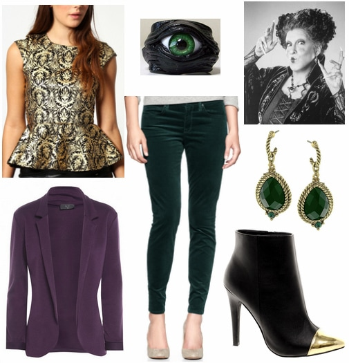 Hocus Pocus Fashion- Winifred Sanderson Outfit