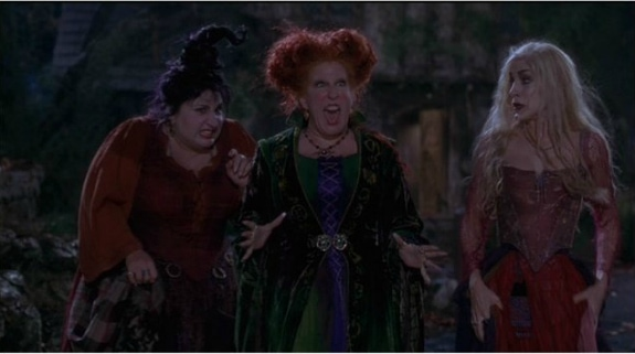 Hocus Pocus- The Sanderson Sisters