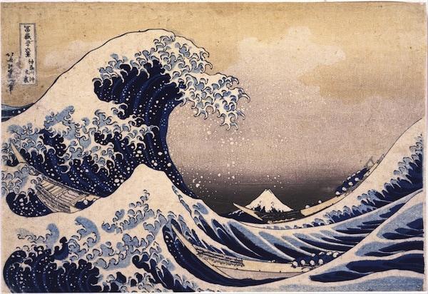 Hokusai great wave