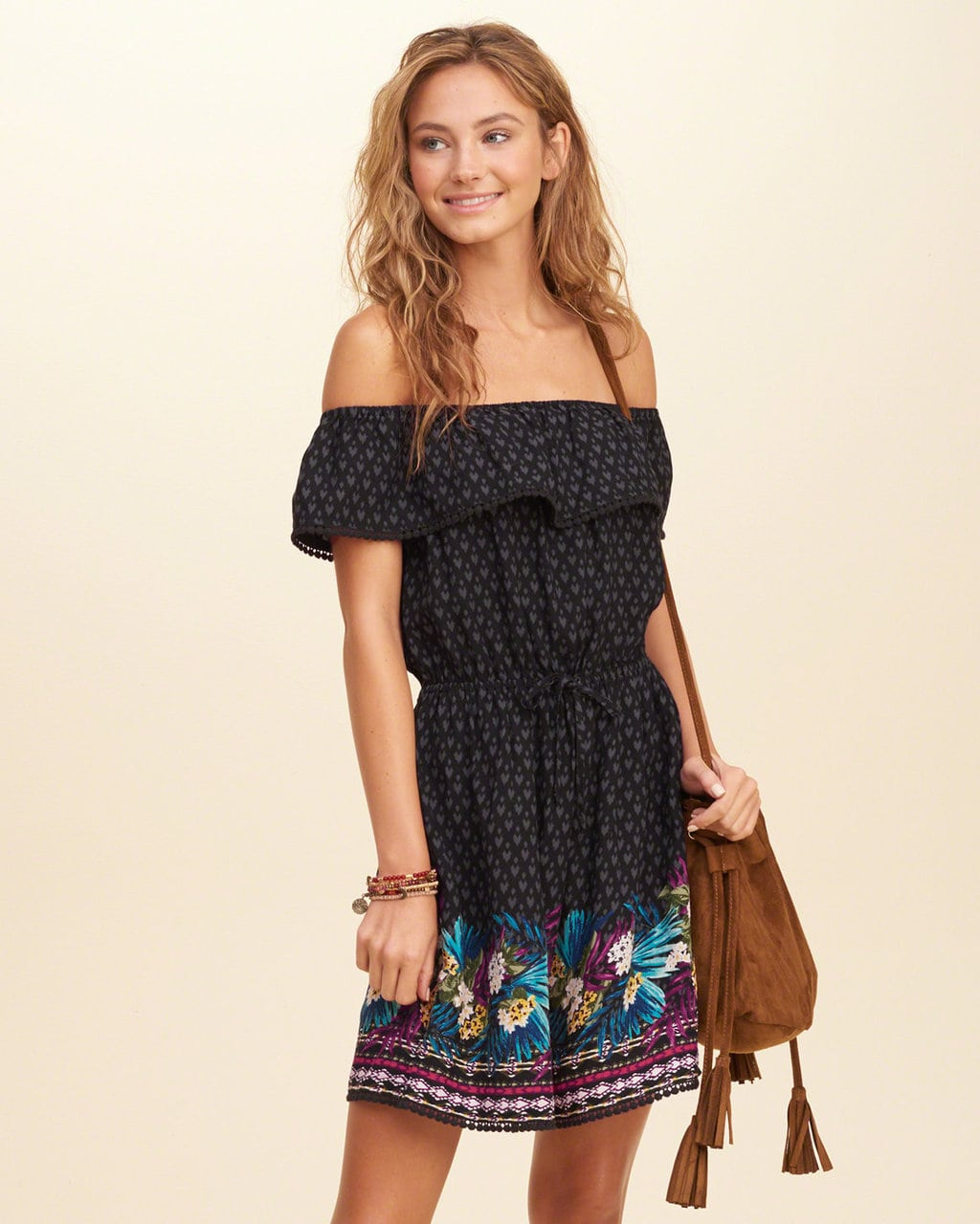 Hollister Off-the-Shoulder Dress