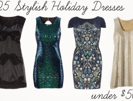 Holiday dresses header