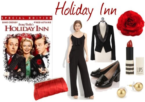 Fashion inspired by the musical Holiday Inn