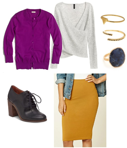 Fuchsia and Marigold outfit