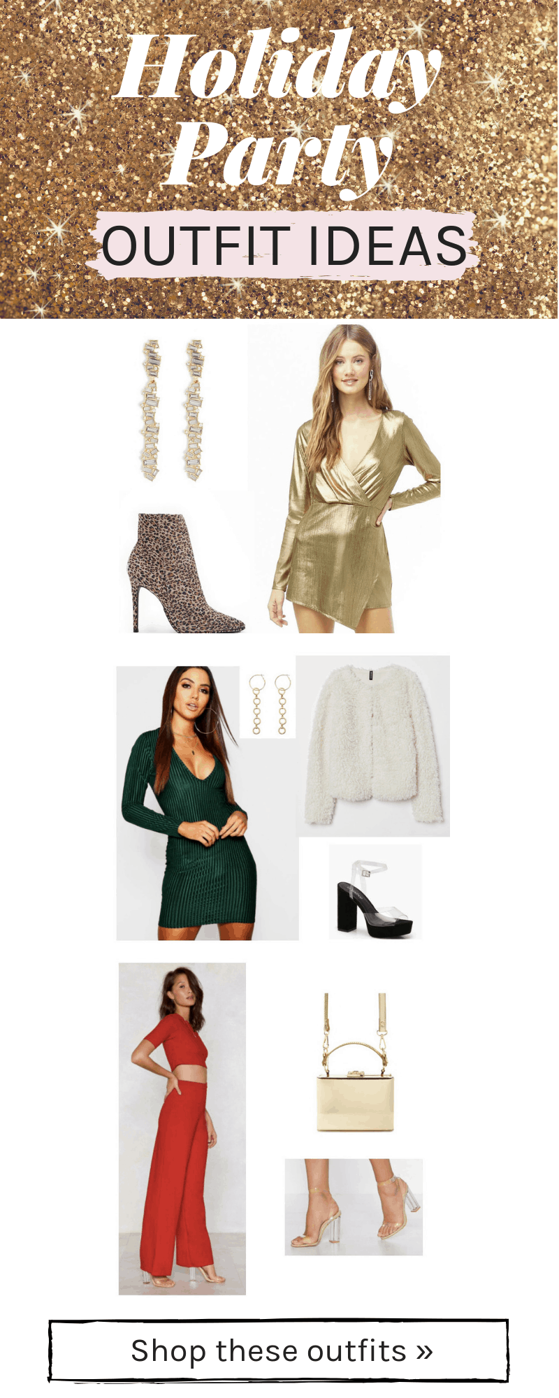 Holiday party outfit ideas for 2018: Cute outfits that are affordable and stylish for any Christmas party