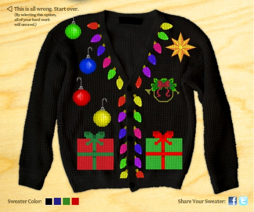 Holiday Sweater by Peter