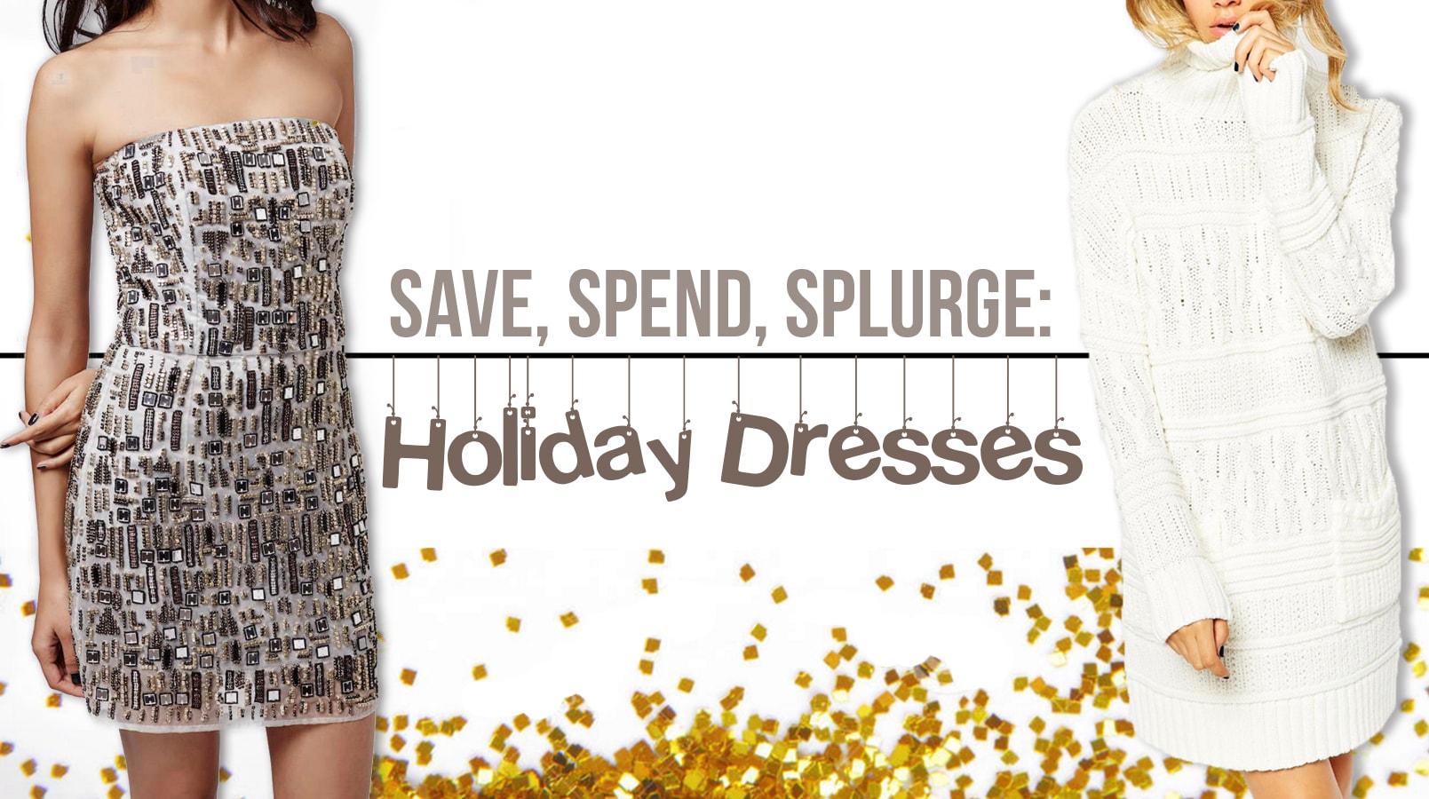 holiday dress header