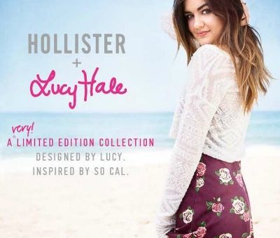 Hollister + Lucy Hale collaboration