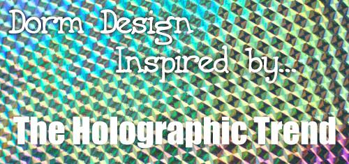 Holographic interior design