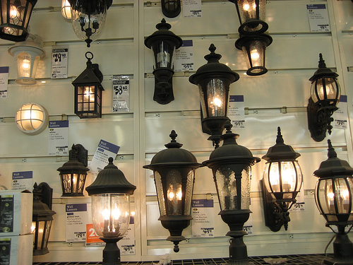 Lamps at Home Depot