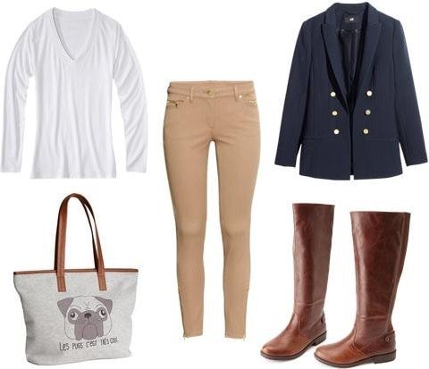 Horseback riding outfit one