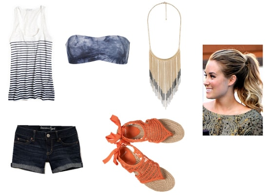 Hot Weather Outfit 1