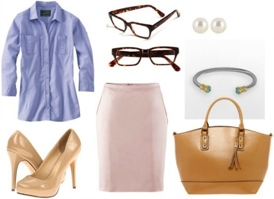 House of cards claire everyday outfit