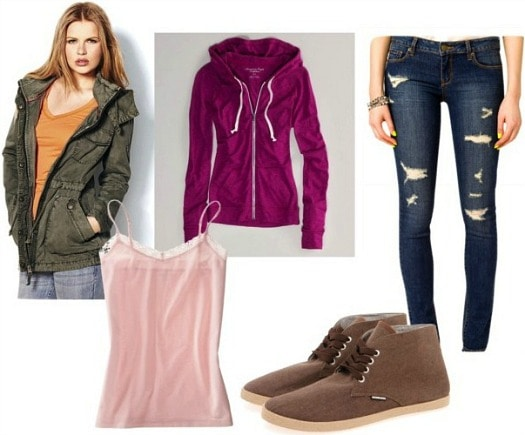 House of cards zoe casual outfit