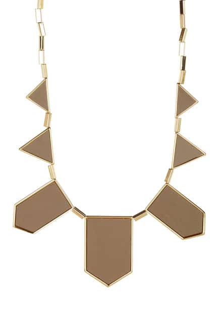 House of Harlow bib necklace