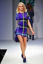 House Of Holland Plaid Dress - Fall 2008 Ready To Wear