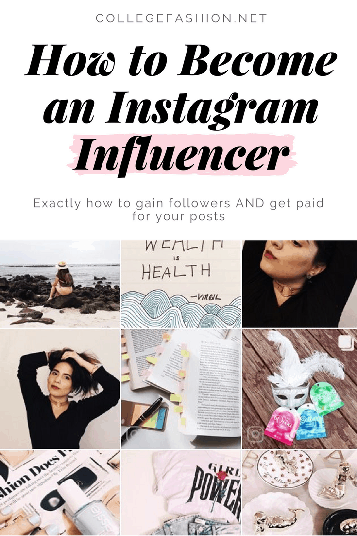 How to become an instagram influencer - how to gain instagram followers and get paid for your posts