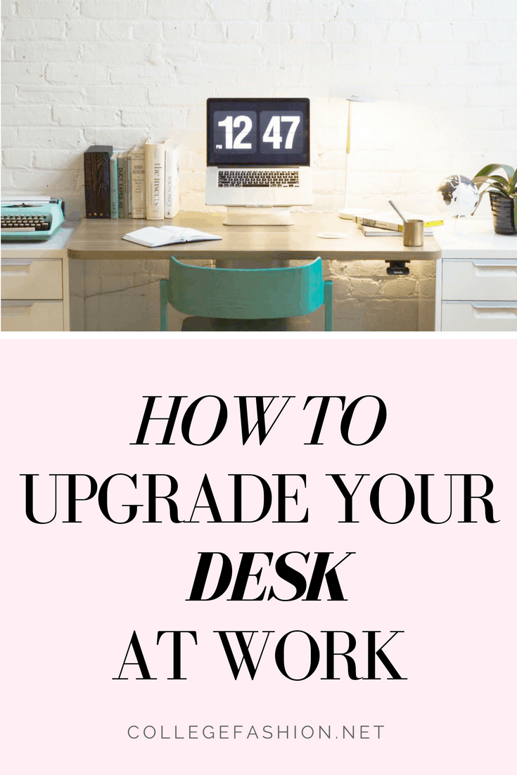 How to decorate your desk or cubicle at work: 4 ways to upgrade your desk decoration