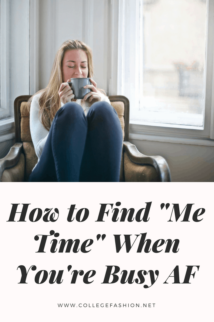 How to find me time when you're busy