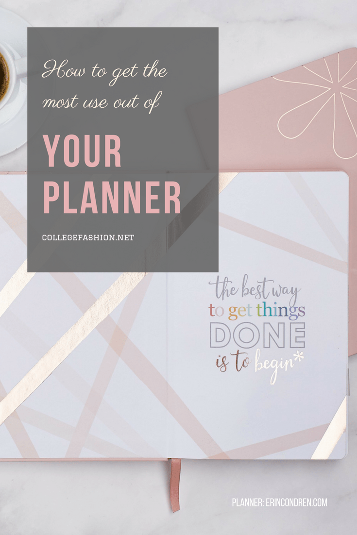 How to get the most use out of your daily planner
