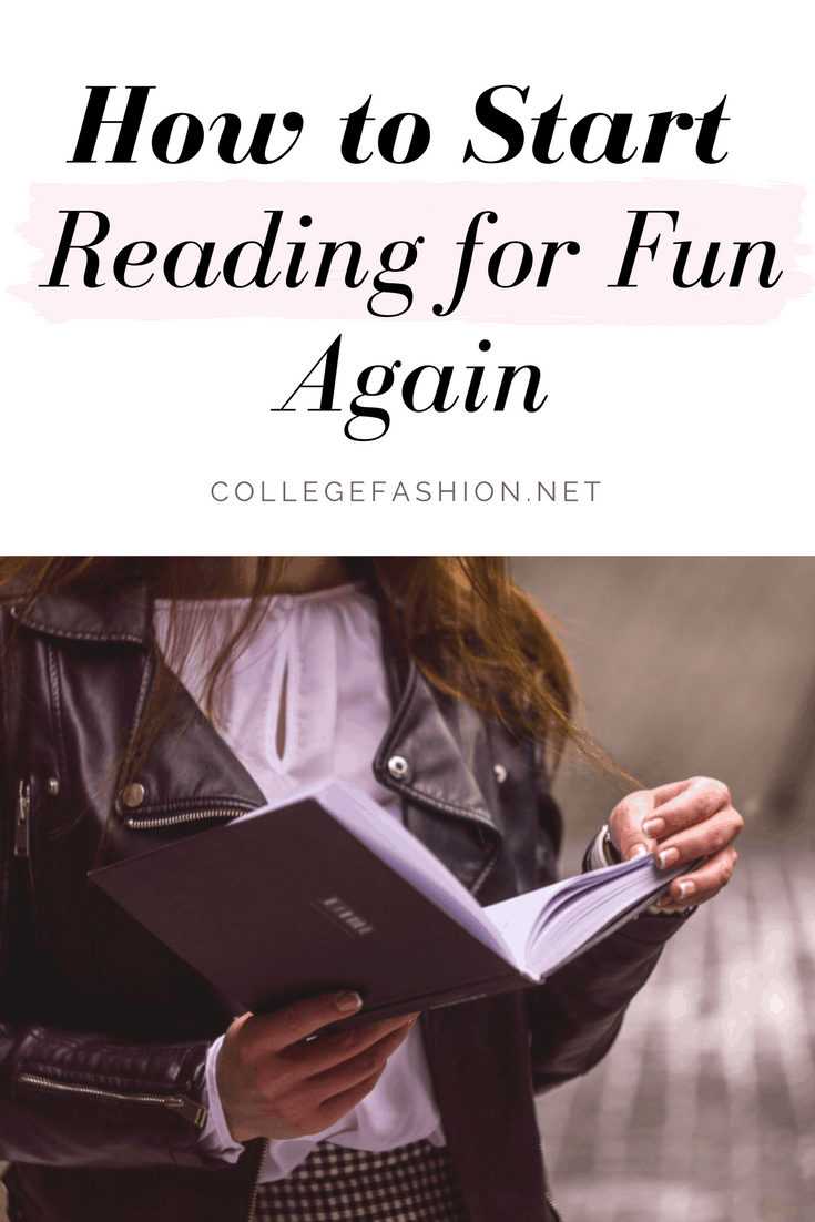 How to Start Reading for Fun Again