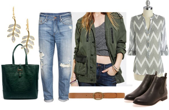 How to style a utility jacket for day