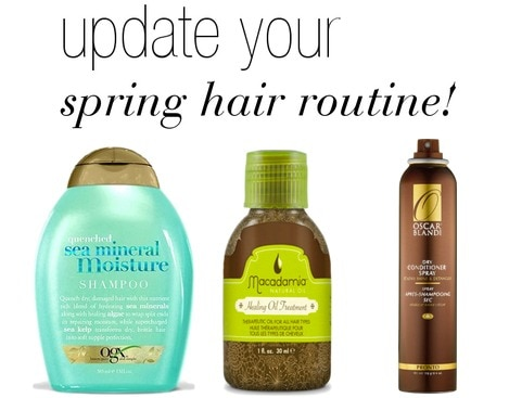 How to update your spring hair routine
