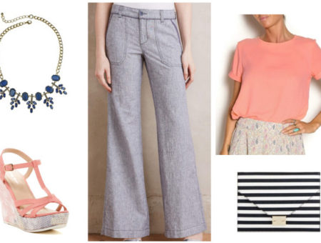 How to wear linen pants for a night out