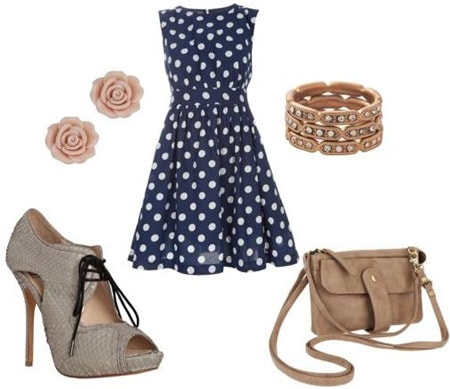 How to wear oxford heels - sample outfit