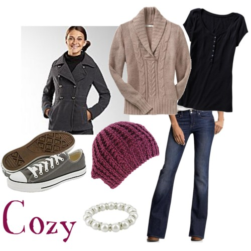 hermione cozy outfit