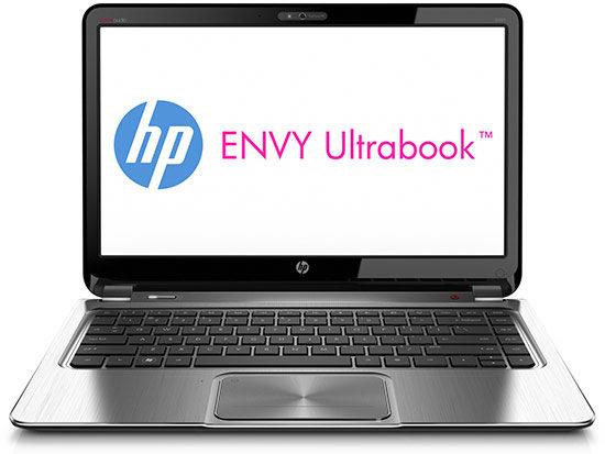 HP Envy 4 Ultrabook in Black/Silver