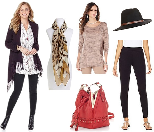 HSN plus size outfit