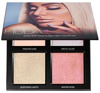 Huda Beauty Winter Highlighter Palette