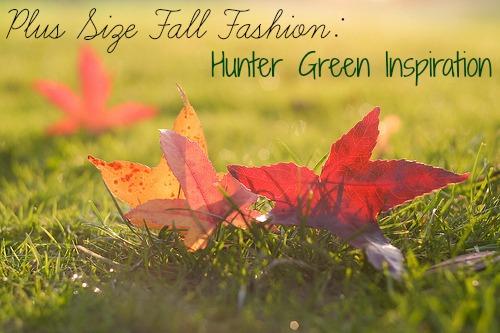 Hunter green fashion