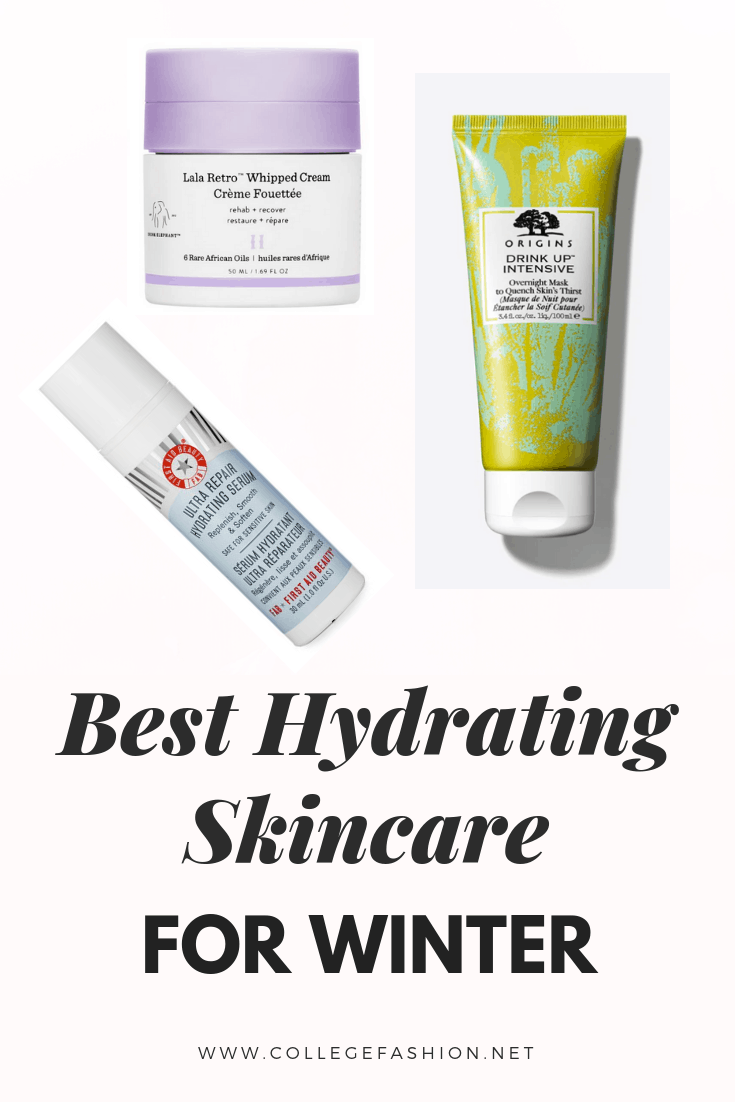 Best hydrating skincare for winter