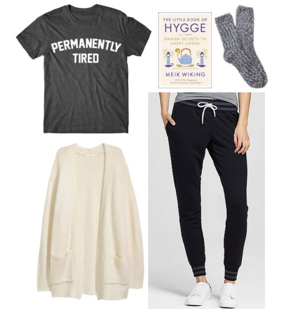 Creating hygge: Cozy outfit for creating hygge in your life