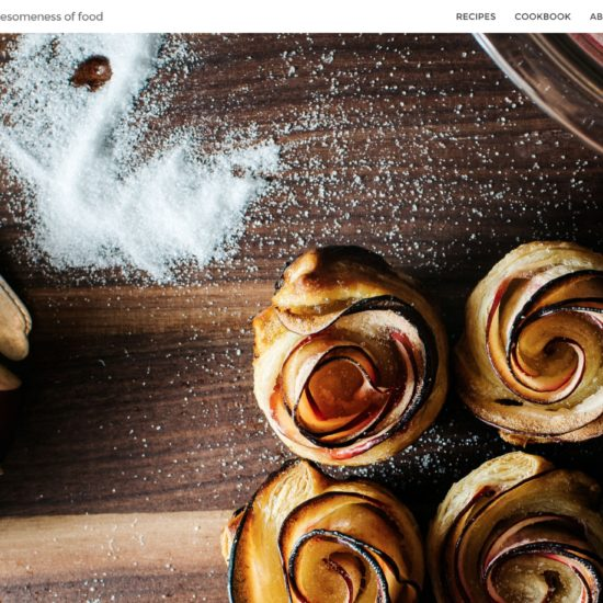 I Am a Food Blog screenshot