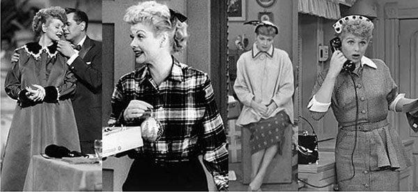 Fashion from the TV show I Love Lucy
