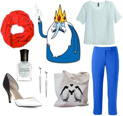 Ice king adventure time fashion