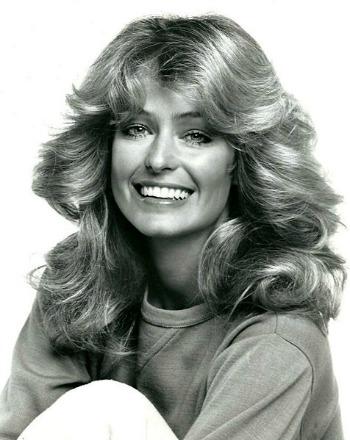 Iconic hair farrah fawcett