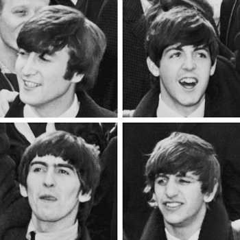 Iconic hair the beatles