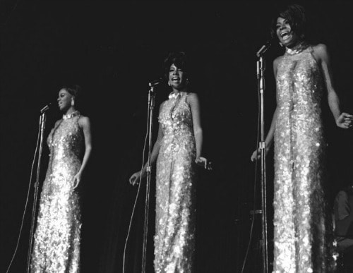 Iconic hair the supremes