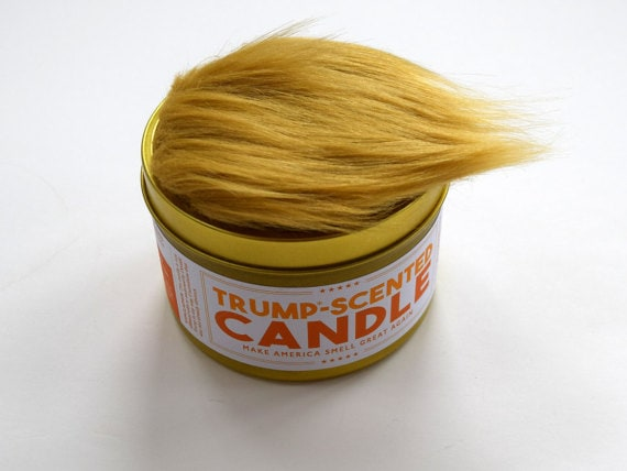 Trump scented candle