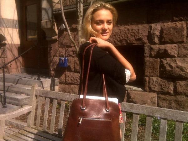 Justine's bag