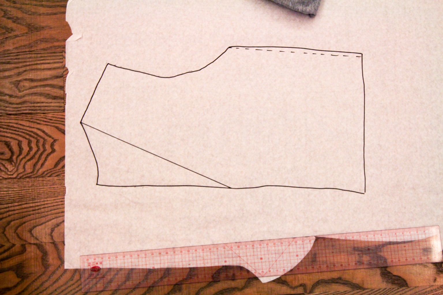 Learn how to draft your own dress pattern with this easy tutorial.