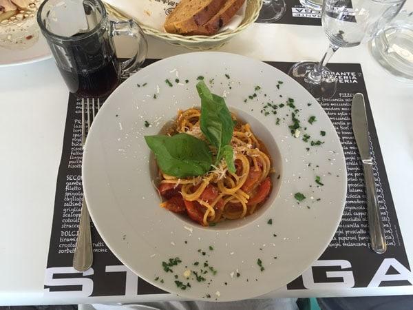 spaghetti italy strega