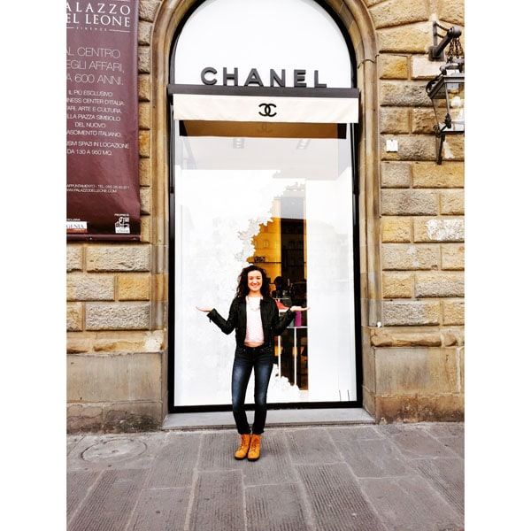 chanel florence store